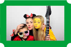 photo booth hire for children's parties